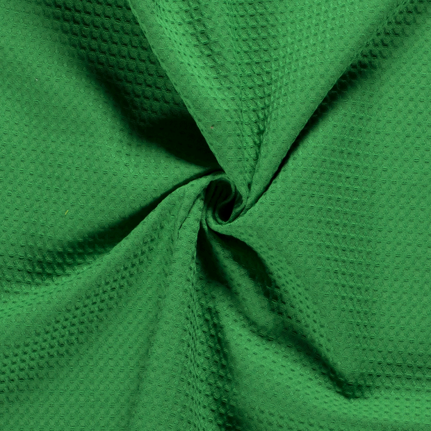 Towelling fabric Unicolour Green