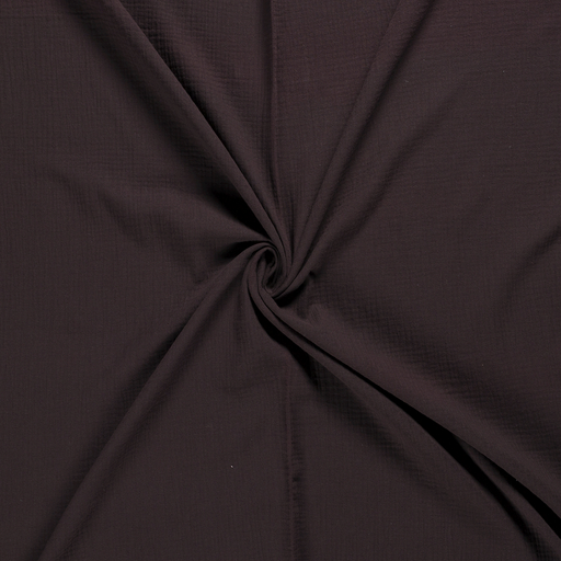 Muslin fabric Dark Brown