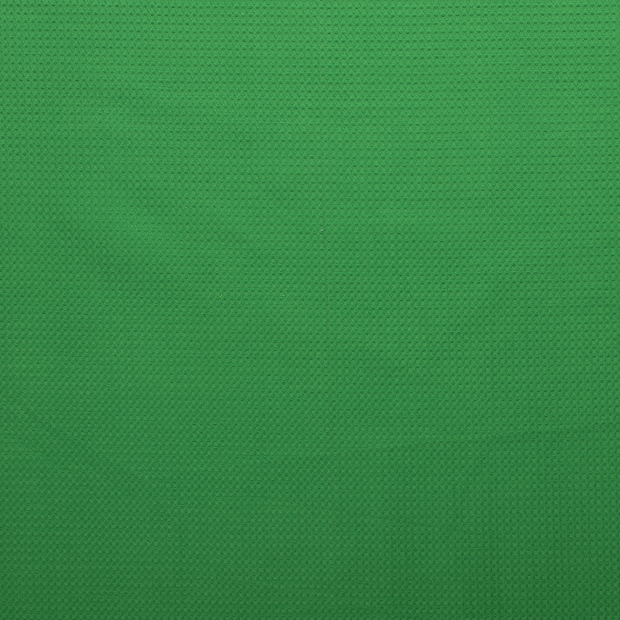 Towelling fabric Green matte