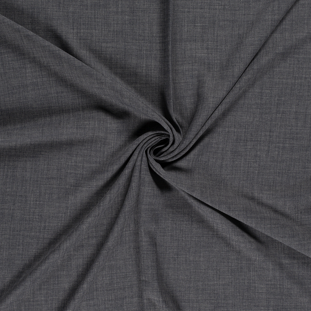 Panama fabric Middle Grey