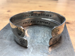 Hidden Mantra Cuff Bracelet, Custom