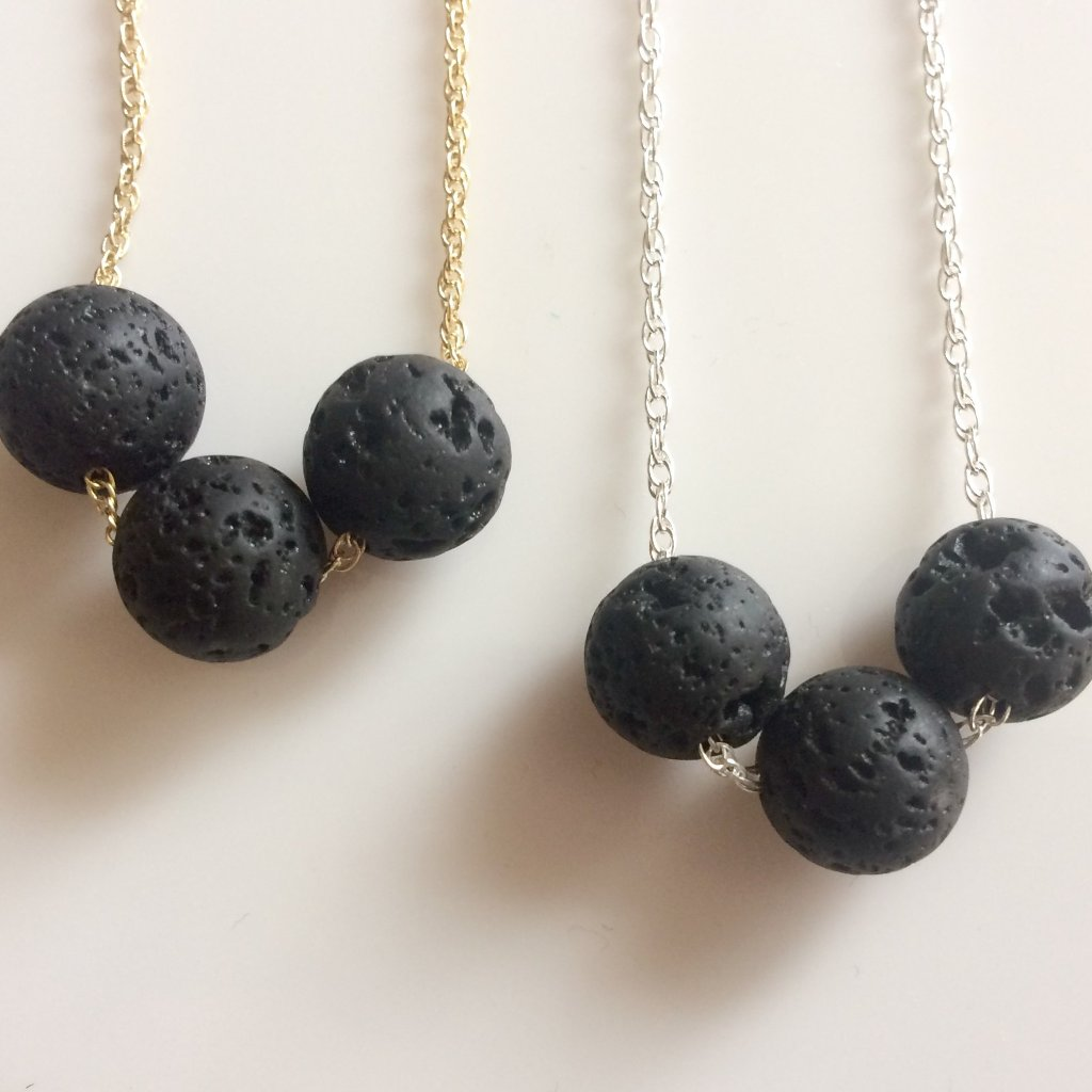 Lava Rock Diffuser Necklace