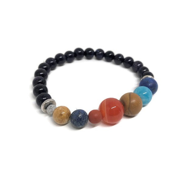 The Galaxy Beaded Bracelet