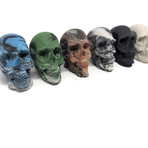 Concrete Mini Skulls