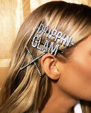 BEDAZZLE - HAIR CLIPS