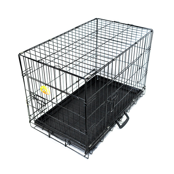 Paisley Paws 30 Inch Metal Dog Crate