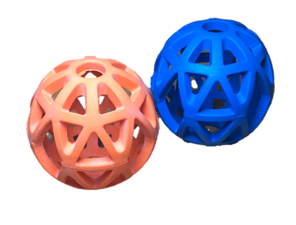 Paisley Paws Interactive Cage Treat Ball