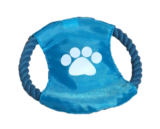 Paisley Paws Rope Frisbee Tug Toy