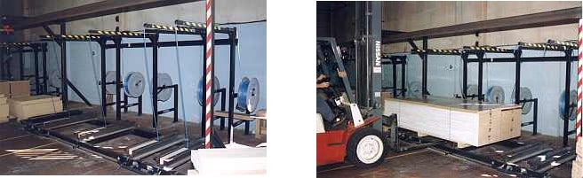 Pallet Strapping Machine Static