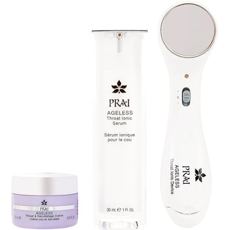Image: PRAI Beauty Ageless Throat Ionic System & Serum