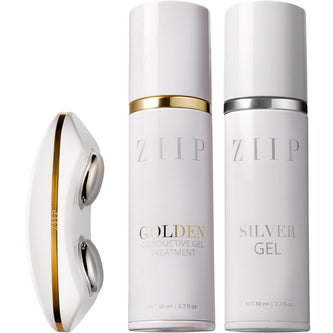 Image: ZIIP Beauty Nano Current Skincare Device & Silver Conductive Gel