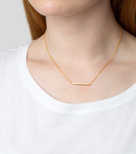 SYSTER P strict line necklace