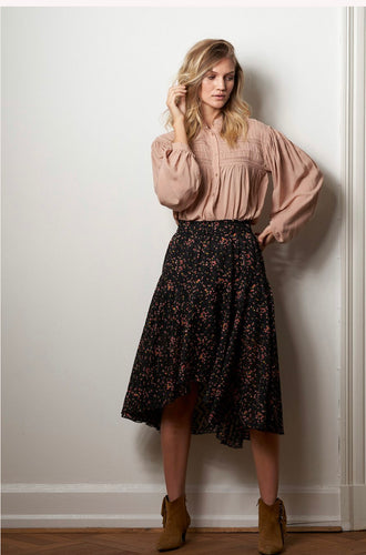 LOLLYS LAUNDRY Bali skirt Sort