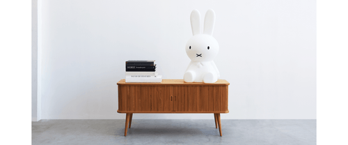 MR.MARIA, ANOTHER STORY Miffy lampe XL 80cm Hvit