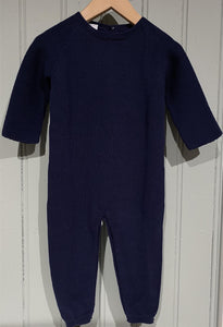 BABIDU Stitch romper without foot Marine