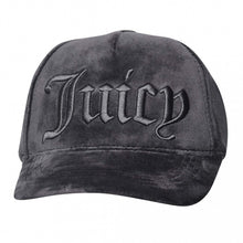 Last bilde inn i Gallery viewer, JUICY COUTURE Velour juicy cap Sort