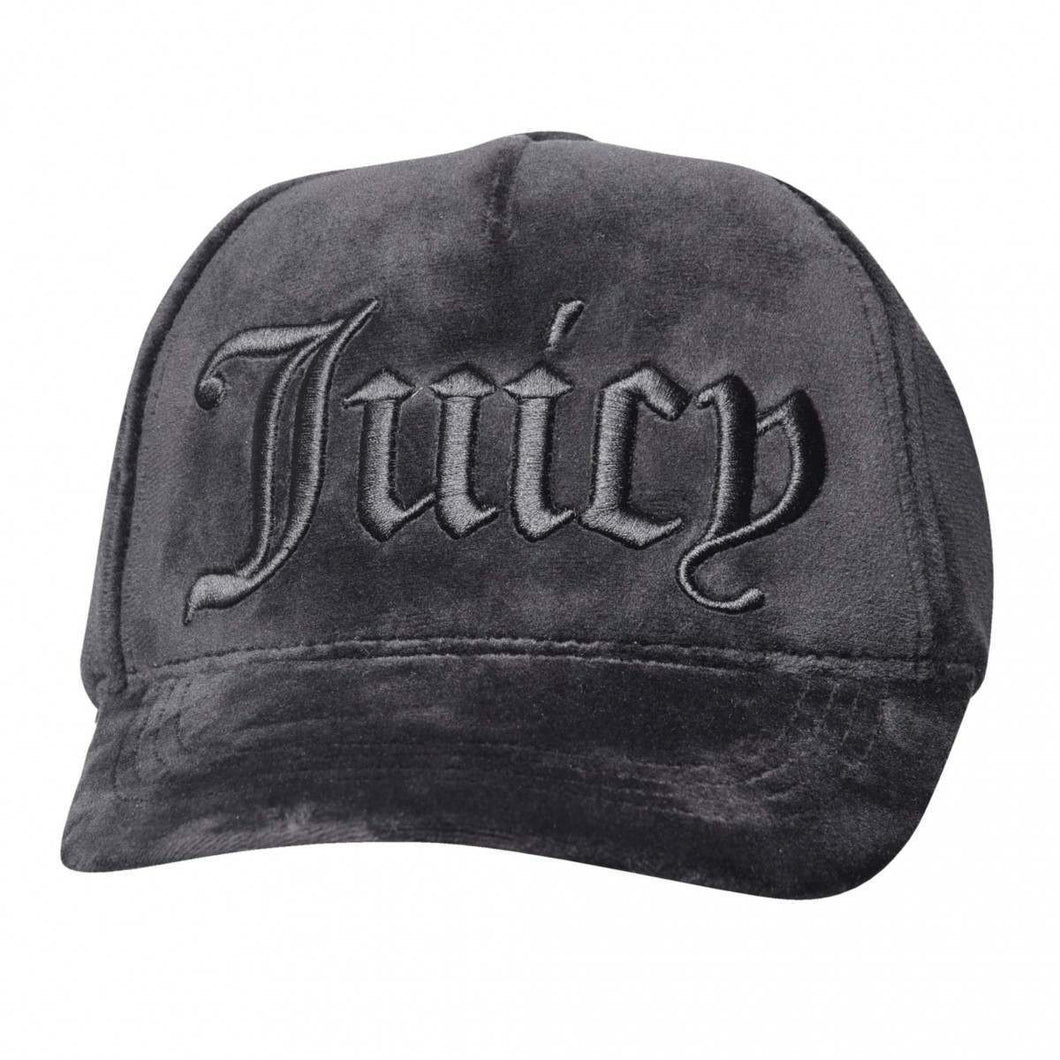 JUICY COUTURE Velour juicy cap Sort