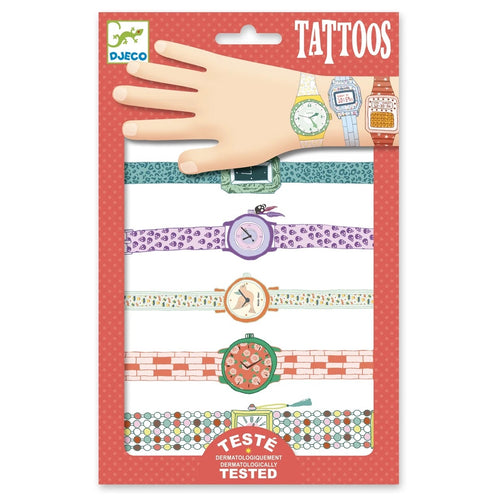 DJECO Tattoos watches Multi