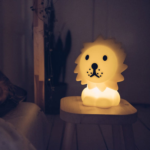 MR.MARIA, ANOTHER STORY Lion lampe First light m.lader 25cm Gul