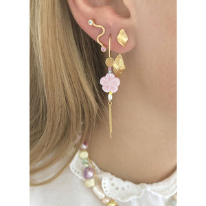 STINE A Pink cherry blossom earring Gull