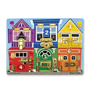 MELISSA AND DOUG Latches Board, låsebrett Multi