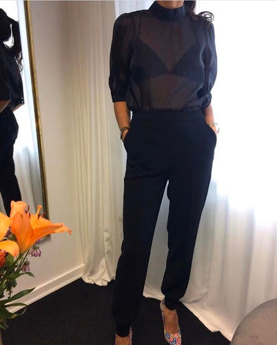 CO´ COUTURE Carrie suit joggers Sort
