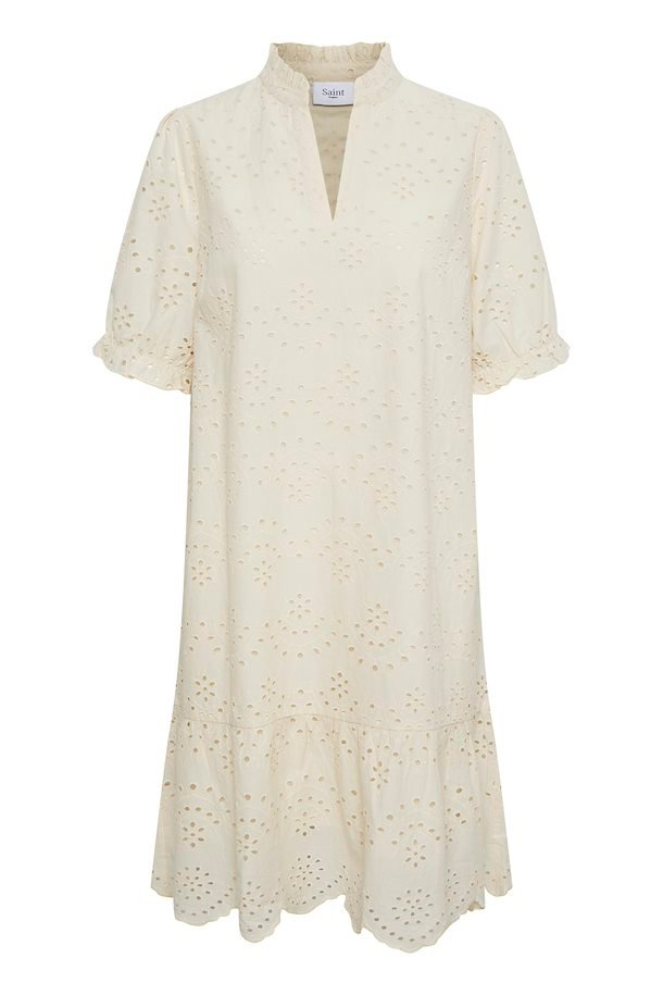 SAINT TROPEZ Geleksa Dress Creme
