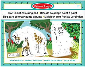 MELISSA AND DOUG Dot to Dot colouring pad