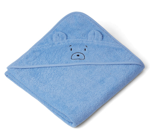 LIEWOOD Augusta hooded towel Blå