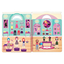 Last bilde inn i Gallery viewer, MELISSA AND DOUG Deluxe Puffy Sticker Album-Day of Glamour