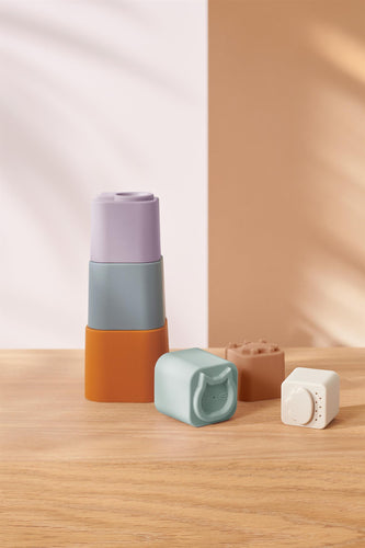 LIEWOOD Zuzu Stacking Cups Multi