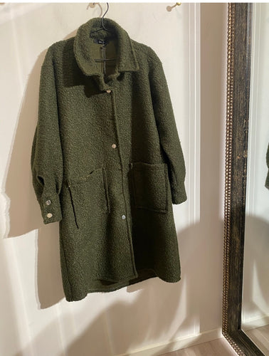 DRYS Lidda long jacket Grønn