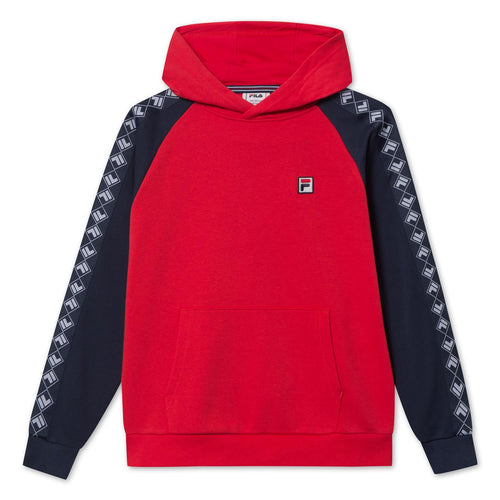 FILA KIDS 8-14ÅR Sasch taped Hoody Rød