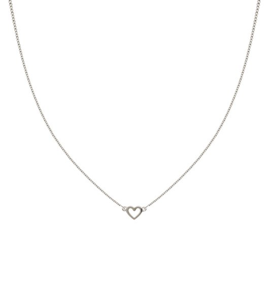 SYSTER P Snap heart necklace