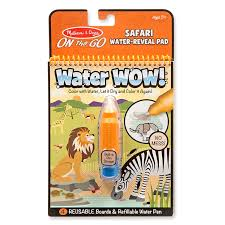MELISSA AND DOUG Water Wow Safari Multi