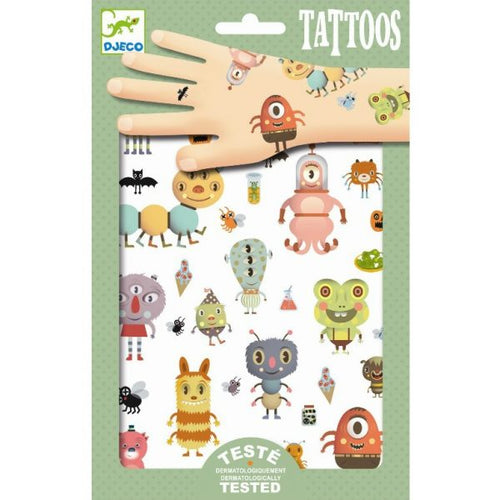 DJECO Tattoos monsters