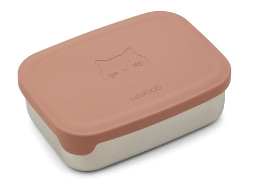 LIEWOOD Nina Lunch box,Cat dark rose Gammelrosa
