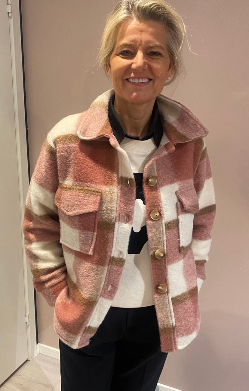 DRYS Sine check jacket Rosa