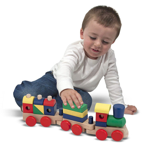 MELISSA AND DOUG Stacking Train
