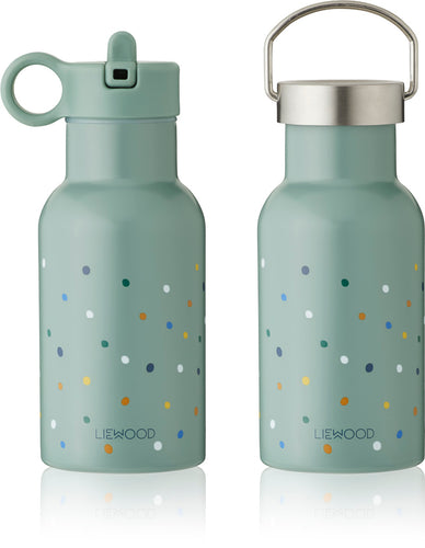 LIEWOOD Water bottle Confetti Peppermint Mintgrønn