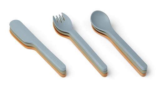 LIEWOOD Frederikke cutlery set 9-pack Ass