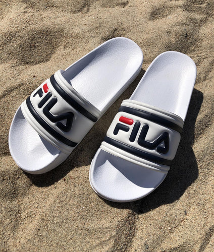 FILA Morro Bay Slipper Hvit