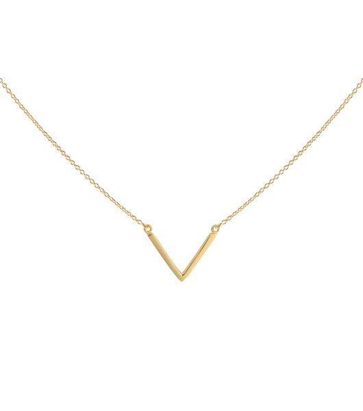 SYSTER P Strict plain v necklace
