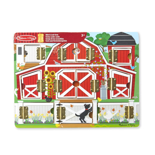 MELISSA AND DOUG Magnetic Farm, brett Multi