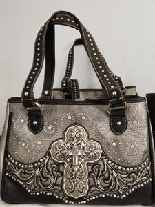 MW Purse Black/Grey