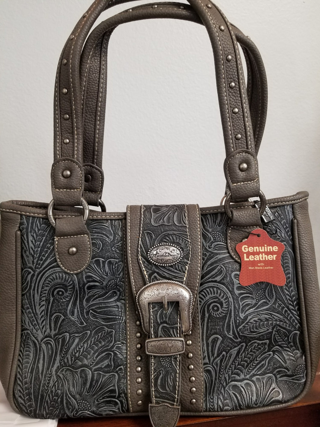 MW Genuine Leather Purse
