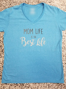 T-Shirt Mom Life/Best Life