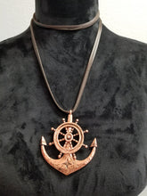 Load image into Gallery viewer, Rope Anchor Necklace