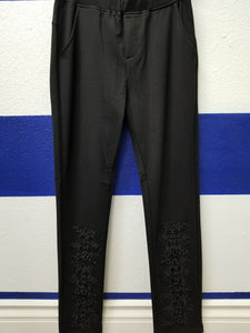 Black Pants w/Applique