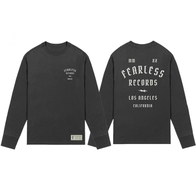 Fearless 2020 Pop Up Black Long Sleeve